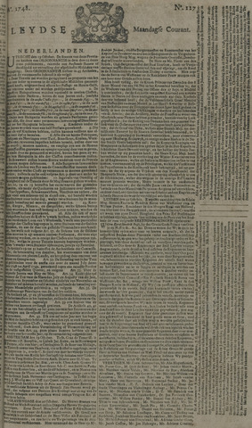 Leydse Courant 1748-10-21