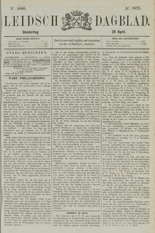 Leidsch Dagblad 1875-04-29