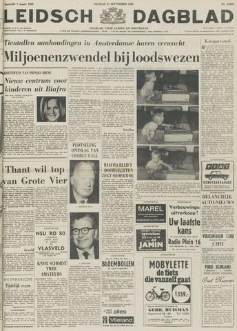 Leidsch Dagblad 1968-09-27
