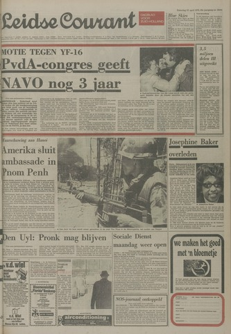 Leidse Courant 1975-04-12