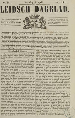Leidsch Dagblad 1861-04-08