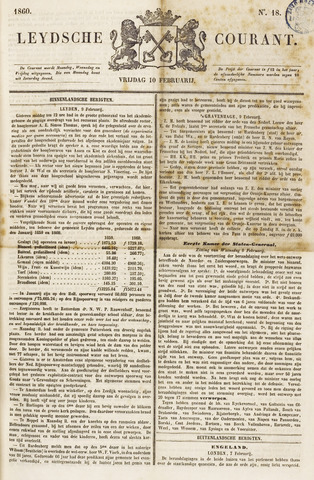 Leydse Courant 1860-02-10