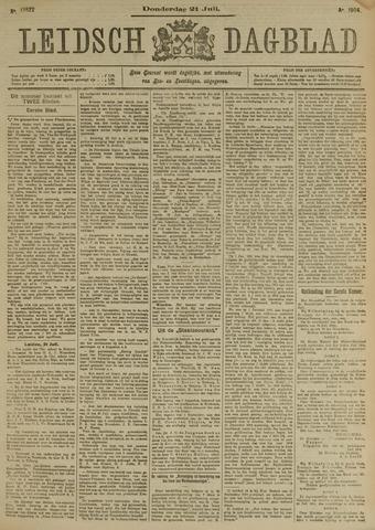 Leidsch Dagblad 1904-07-21