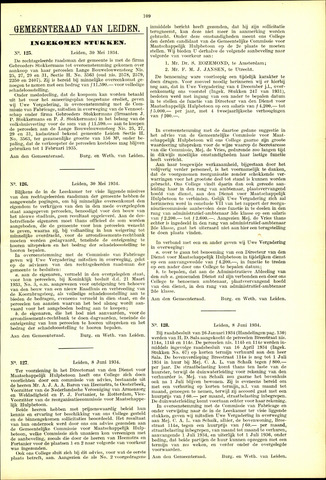 Handelingen van de Raad 1934-05-30