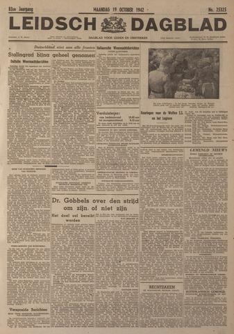 Leidsch Dagblad 1942-10-19