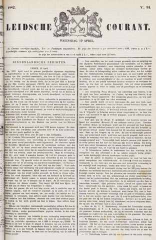 Leydse Courant 1882-04-19