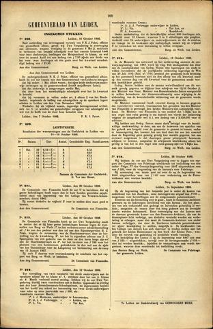 Handelingen van de Raad 1886-10-16