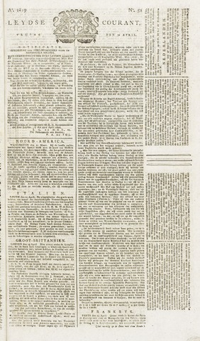 Leydse Courant 1819-04-30