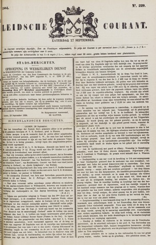 Leydse Courant 1884-09-27