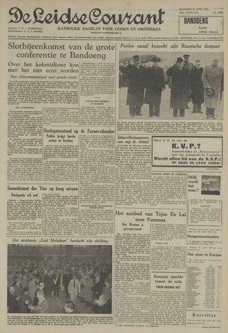 Leidse Courant 1955-04-25
