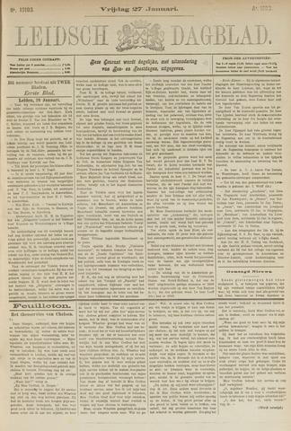 Leidsch Dagblad 1893-01-27