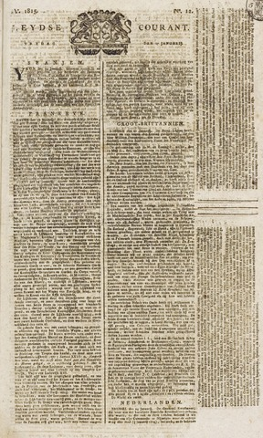 Leydse Courant 1815-01-27