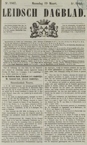Leidsch Dagblad 1866-03-19