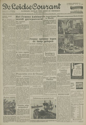 Leidse Courant 1954-09-04