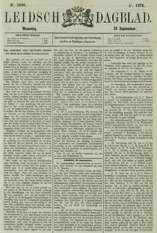 Leidsch Dagblad 1876-09-25