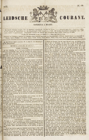 Leydse Courant 1873-03-01