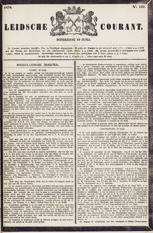 Leydse Courant 1879-06-19