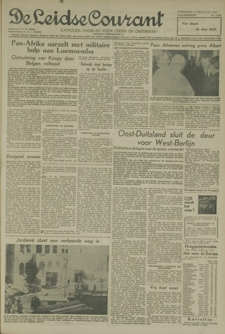 Leidse Courant 1960-08-31