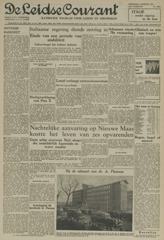 Leidse Courant 1954-01-06