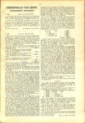 Handelingen van de Raad 1903-11-16