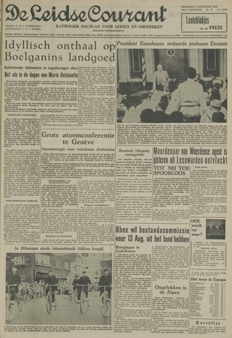 Leidse Courant 1955-08-08