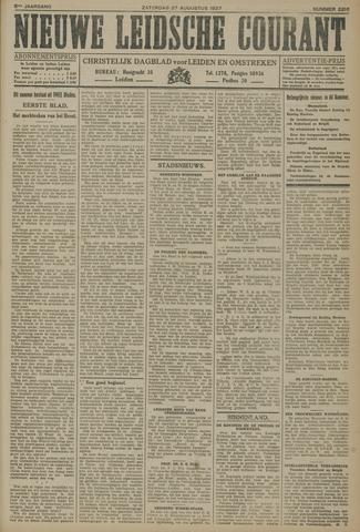 Nieuwe Leidsche Courant 1927-08-27
