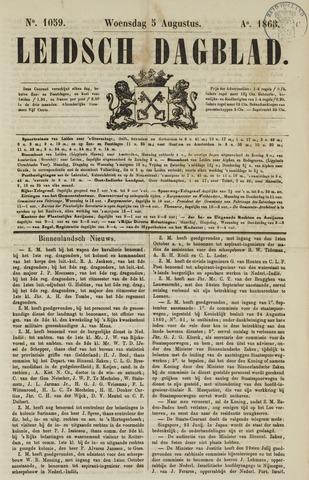 Leidsch Dagblad 1863-08-05