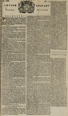 Leydse Courant 1808-11-02