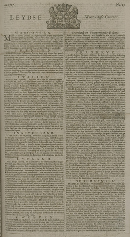 Leydse Courant 1725-02-21