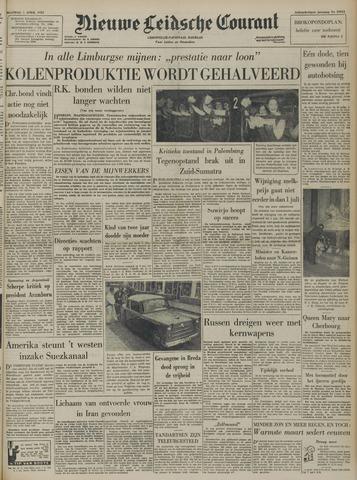 Nieuwe Leidsche Courant 1957-04-01