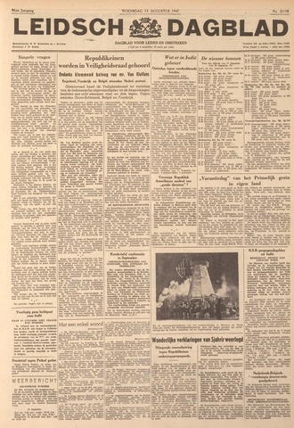 Leidsch Dagblad 1947-08-13