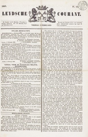 Leydse Courant 1865-02-03