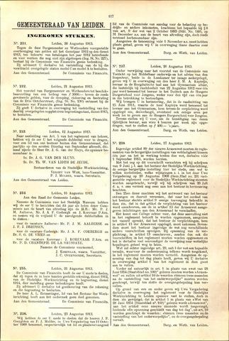 Handelingen van de Raad 1913-08-20