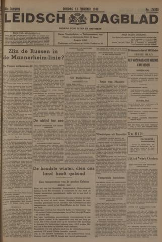 Leidsch Dagblad 1940-02-13