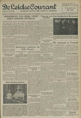 Leidse Courant 1952-12-08