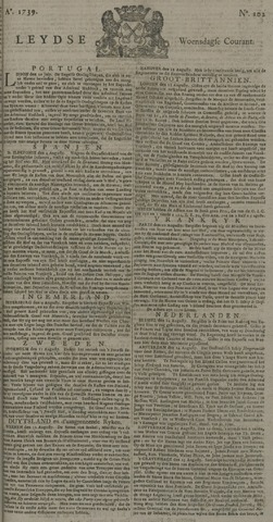Leydse Courant 1739-08-26