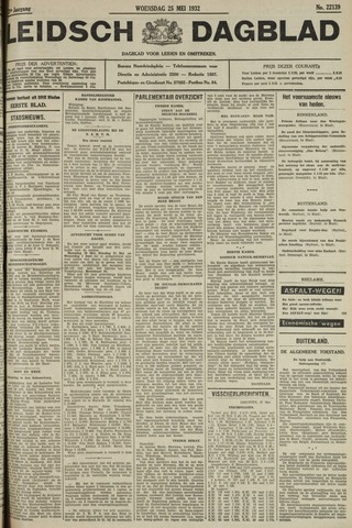 Leidsch Dagblad 1932-05-25
