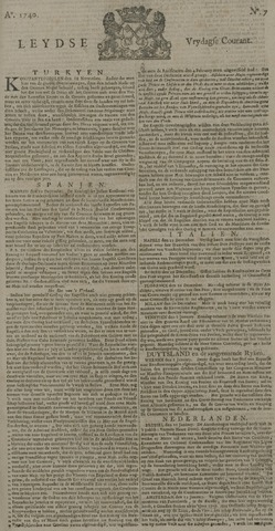 Leydse Courant 1740-01-15
