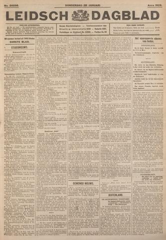 Leidsch Dagblad 1926-01-28