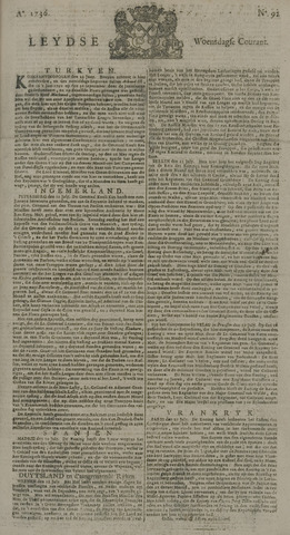 Leydse Courant 1736-08-01