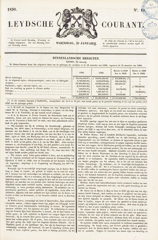 Leydse Courant 1850-01-23