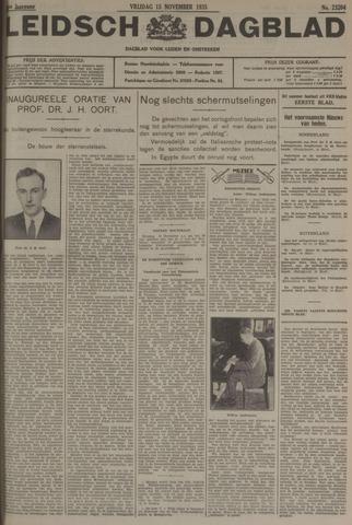 Leidsch Dagblad 1935-11-15