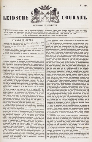 Leydse Courant 1877-08-22