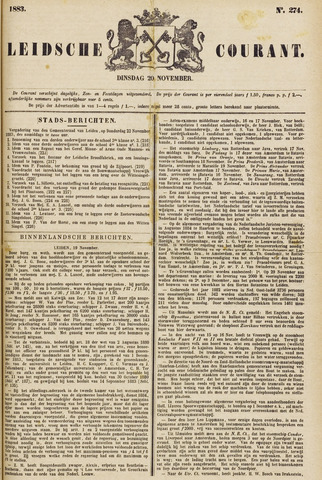 Leydse Courant 1883-11-20