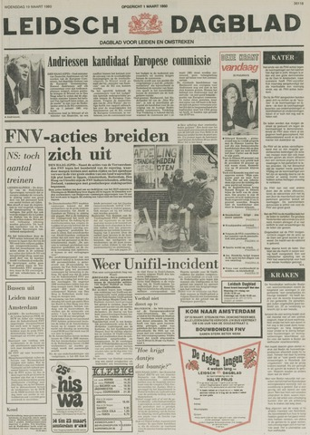 Leidsch Dagblad 1980-03-19