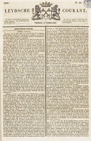 Leydse Courant 1860-02-17