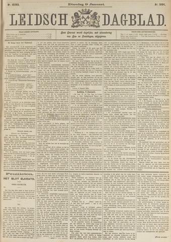 Leidsch Dagblad 1894-01-09