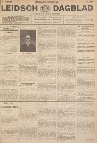 Leidsch Dagblad 1928-11-22