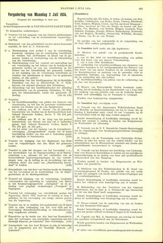 Handelingen van de Raad 1934-07-02
