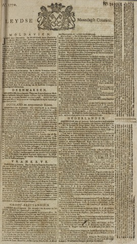 Leydse Courant 1770-01-22